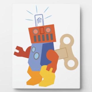 ロボットを終わらせて下さい フォトプラーク