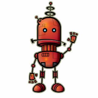 ロボットサムの涼しい彫刻 写真彫刻(台付き)