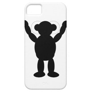 ロボットシルエット iPhone SE/5/5s ケース