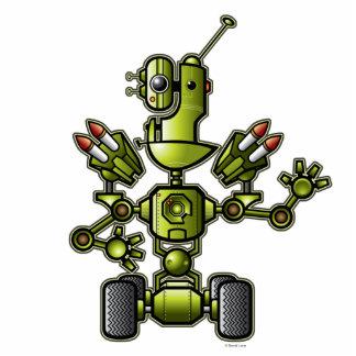 ロボットジンクスの彫刻 フォトスカルプチャー