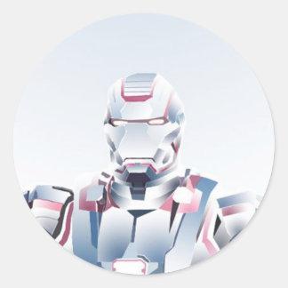 ロボットステッカー ラウンドシール
