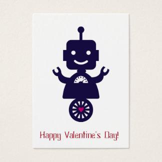 ロボットバレンタイン-スクーター 名刺
