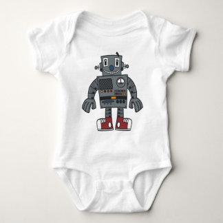 ロボット前部 ベビーボディスーツ