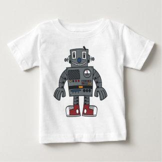 ロボット前部 ベビーTシャツ