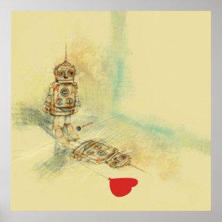 ロボット及び気持ち ポスター