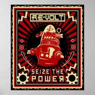 ロボット反乱 ポスター