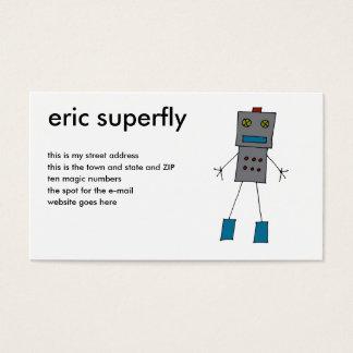 ロボット名刺 名刺