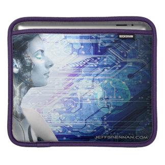 ロボット女の子1のiPadの袖 iPadスリーブ