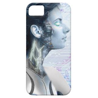 ロボット女の子1のiPhone 5の場合 iPhone SE/5/5s ケース