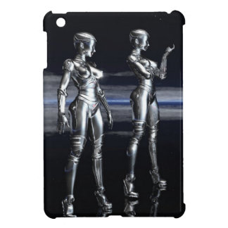 ロボット女の子 iPad MINIカバー