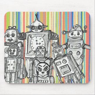 ロボット家族6のマウスパッド マウスパッド