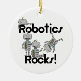 ロボット工学の石 セラミックオーナメント