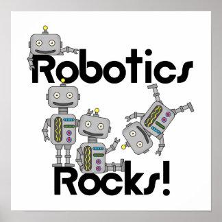 ロボット工学の石 ポスター