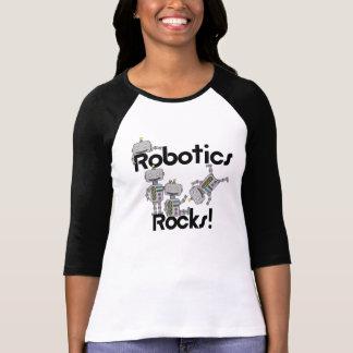 ロボット工学の石 Tシャツ