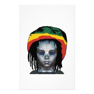 ロボット工学Rastafarian 便箋