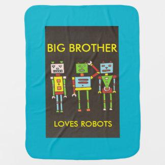 ロボット愛 ベビー ブランケット