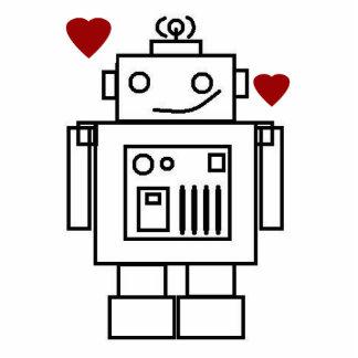 ロボット愛 写真彫刻マグネット