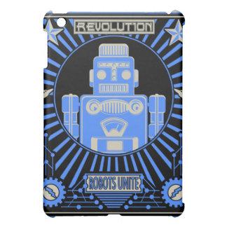 ロボット改革の青 iPad MINIケース