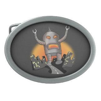 ロボット攻撃 卵形バックル