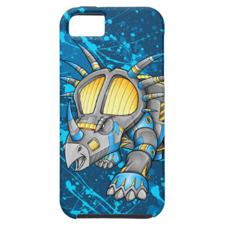 ロボット機械トリケラトプスの恐竜のiPhone 5の場合 iPhone SE/5/5s ケース