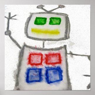 ロボット波 ポスター
