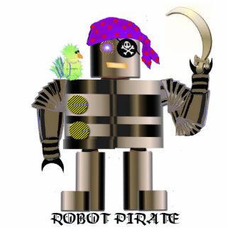 ロボット海賊彫刻 フォトスカルプチャー