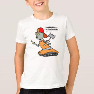 ロボット消防士のTシャツ Tシャツ