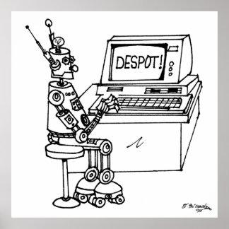 ロボット漫画3624 ポスター