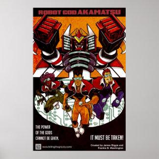 ロボット神のAkamatsuポスター1 ポスター