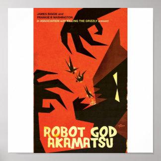 ロボット神のAkamatsuポスター6 ポスター