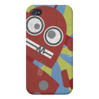ロボット箱(赤で) iPhone 4/4Sケース