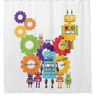 ロボット規則科学の技術のロボット工学 シャワーカーテン
