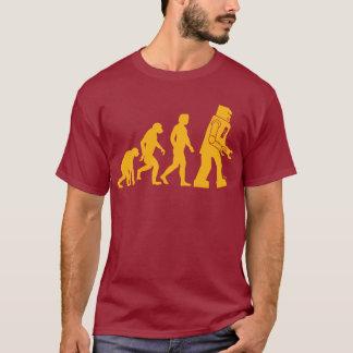 ロボット進化のSheldonのたる製造人の大きい強打理論 Tシャツ