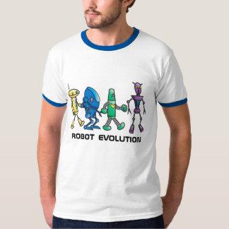 ロボット進化色のTシャツ Tシャツ