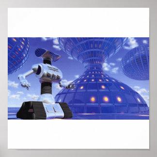 ロボット都市ポスター ポスター