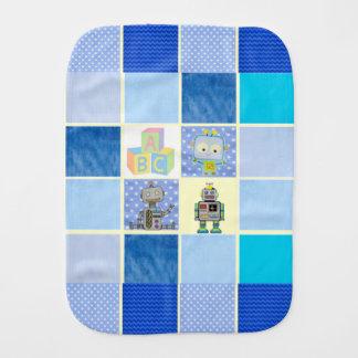 ロボット青のベビー用バーブクロス バープクロス