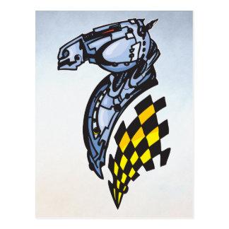 ロボット馬 ポストカード