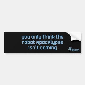 ロボット黙示録(バンパーステッカー) バンパーステッカー