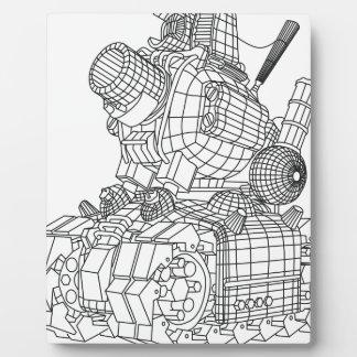 ロボット2 フォトプラーク