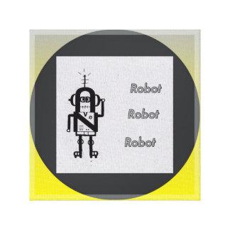 ロボット キャンバスプリント