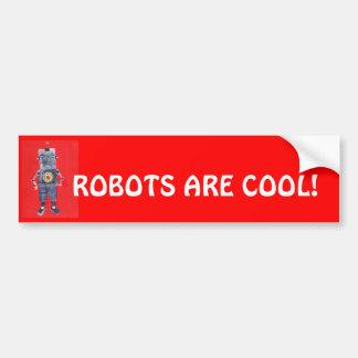 ロボット バンパーステッカー