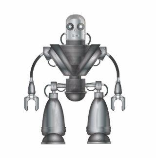 ロボット 写真彫刻バッジ