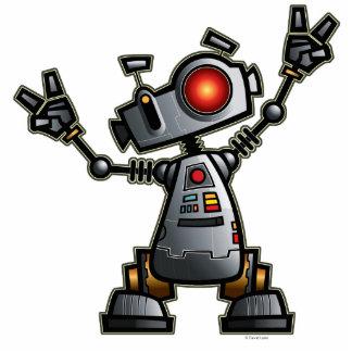 ロボットDizの彫刻 フォトスカルプチャー
