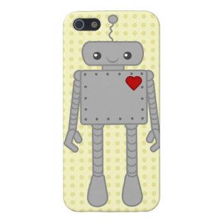 ロボットIPhoneのかわいい場合 iPhone 5 Cover