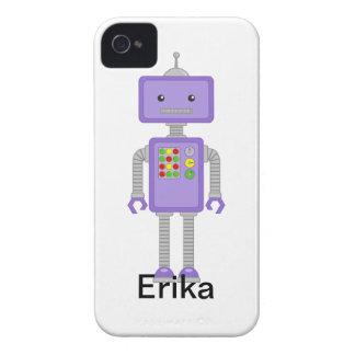 ロボットiPhoneはロボットギフトを包装します Case-Mate iPhone 4 ケース