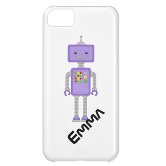ロボットiPhoneはロボットギフトを包装します iPhone5Cケース