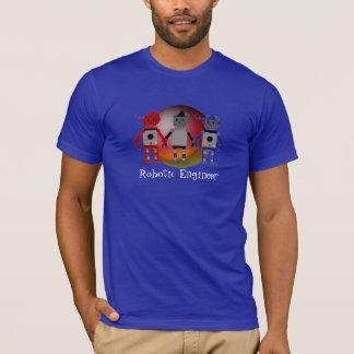 ロボティックエンジニア-ロボット Tシャツ