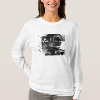 ロボティックフード付きスウェットシャツ Tシャツ