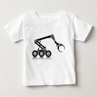 ロボティック腕 ベビーTシャツ