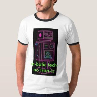 ロボティックrobo技術tron IC Tシャツ